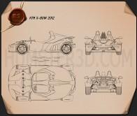 KTM X-Bow 2012 Blueprint