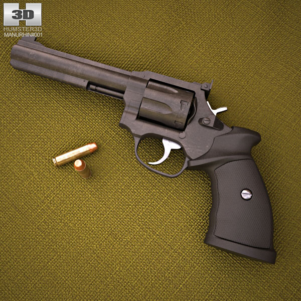 Manurhin MR 73 Sport 3d model