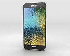 Samsung Galaxy E5 Black 3D model