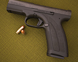 Caracal pistol 3D model