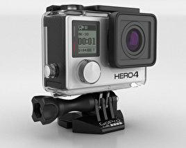 GoPro HERO4 Black 3D model