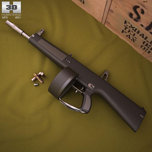 AA-12 3d model ...
