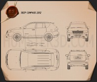 Jeep Compass 2012 Blueprint