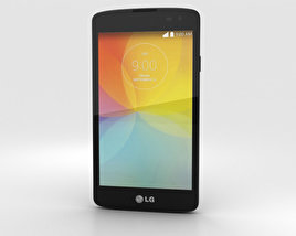 LG F60 Black 3D model