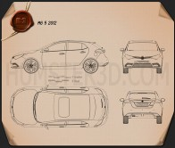 MG 5 2012 Blueprint