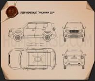 Jeep Renegade Trailhawk 2015 Blueprint