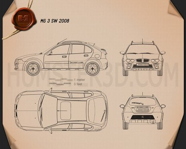 MG 3 SW 2008 Blueprint