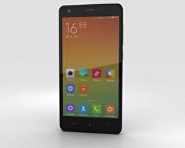 Xiaomi Redmi 2 Black 3D model