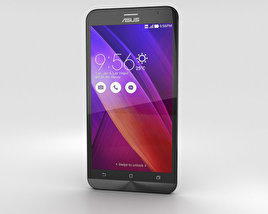 Asus Zenfone 2 Osmium Black 3D model