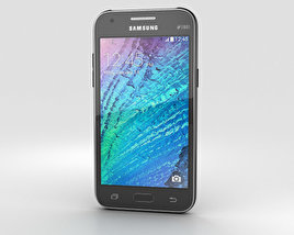 Samsung Galaxy J1 Black 3D model