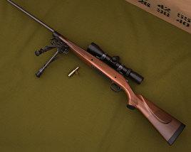 Remington Model 700 3D model