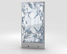 Sharp Aquos Crystal White 3D model
