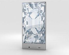 Sharp Aquos Crystal Blue 3D model