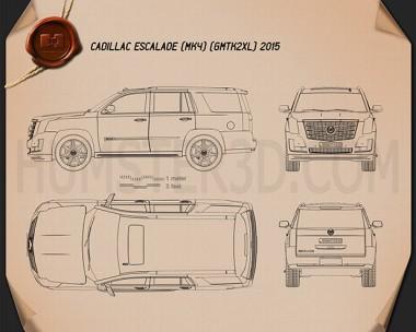 Cadillac Escalade 2015 Blueprint