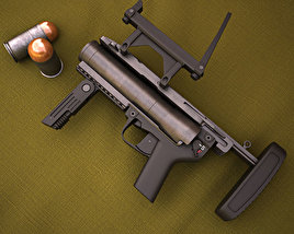 Heckler & Koch M320 GLM 3D model