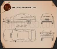 BMW 3 Series convertible (E46) 2004  Blueprint