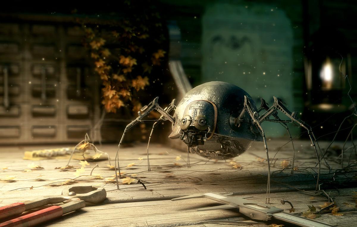 Spider Robot by Adrien Lambert