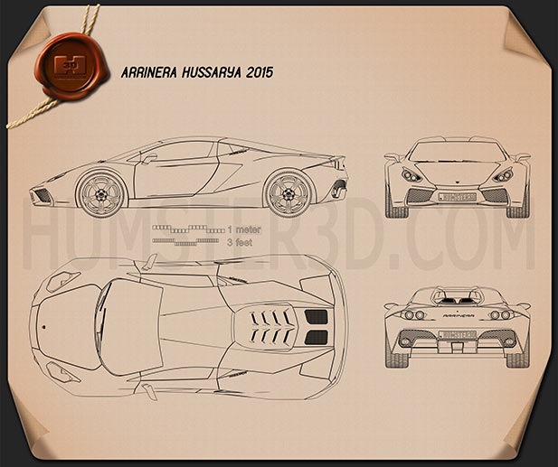 Arrinera Hussarya 2015 Blueprint