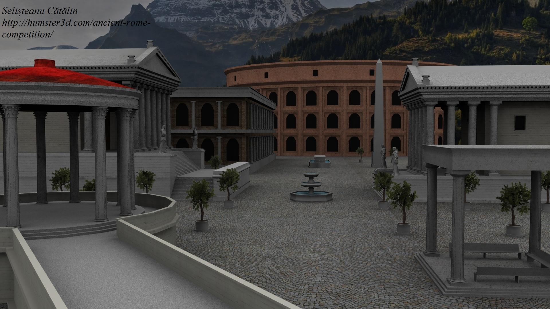City of Rome 3d art