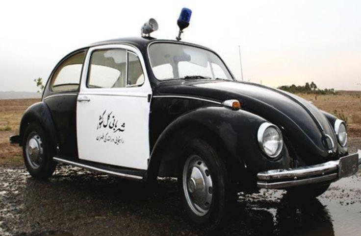 Iran police car