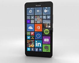 Microsoft Lumia 640 XL Black 3D model