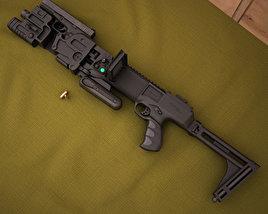 CornerShot CSM with Glock 21 3D model