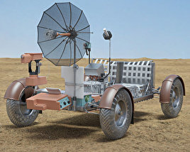 Apollo 15 Lunar Roving Vehicle 3D model
