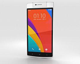 Oppo N3 White 3D model