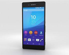 Sony Xperia Z4 Black 3D model