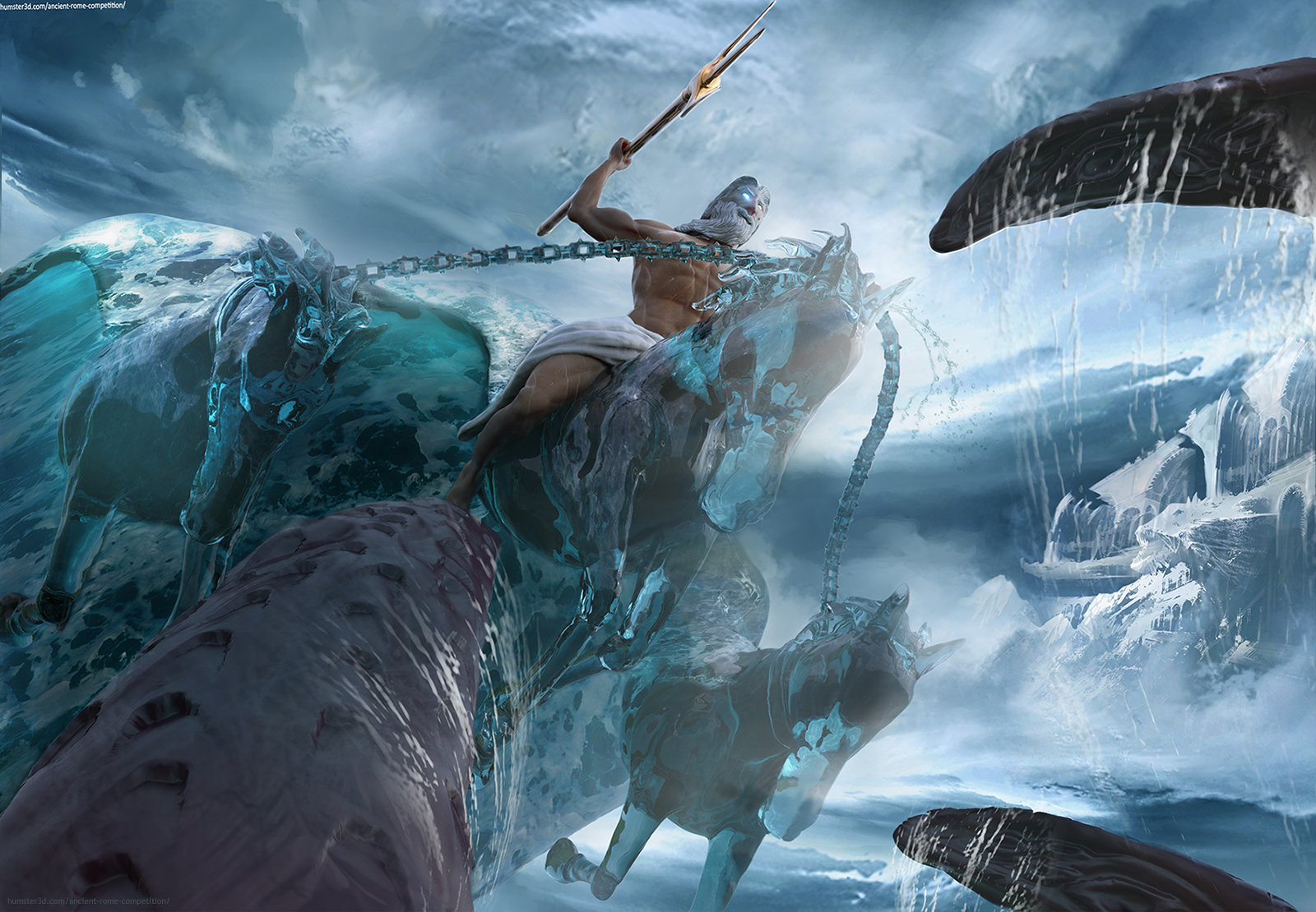 Neptune 3d art
