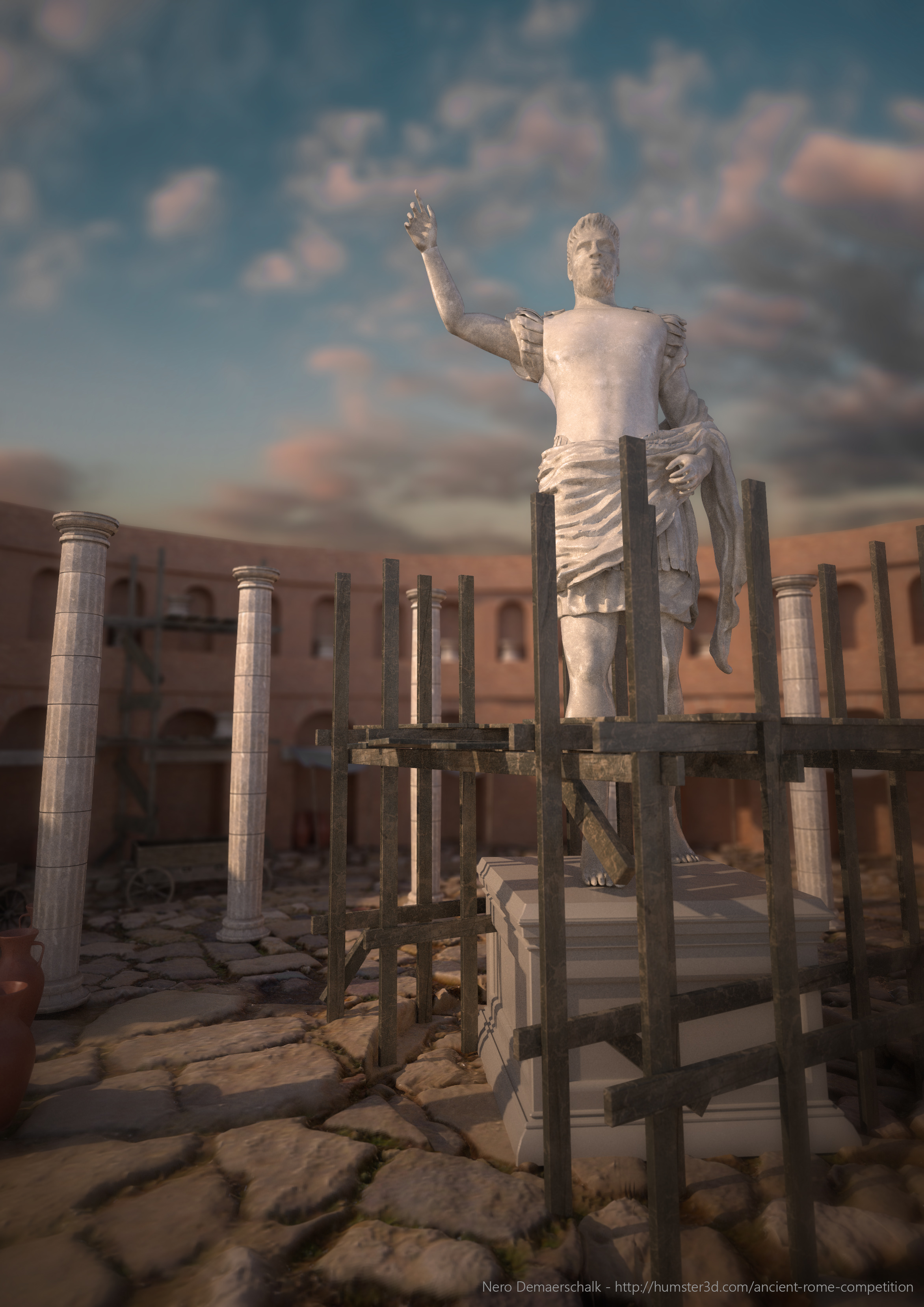 The Rise Of Emperor Nero 3d art