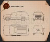 Chevrolet Tahoe 2010 Blueprint