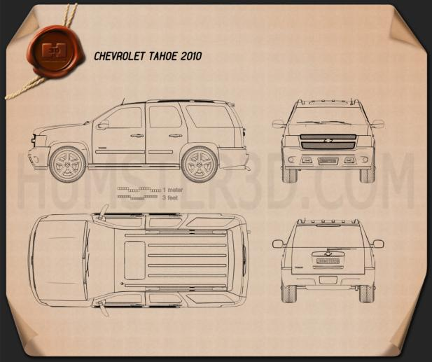 Chevrolet Tahoe 2010 Blueprint