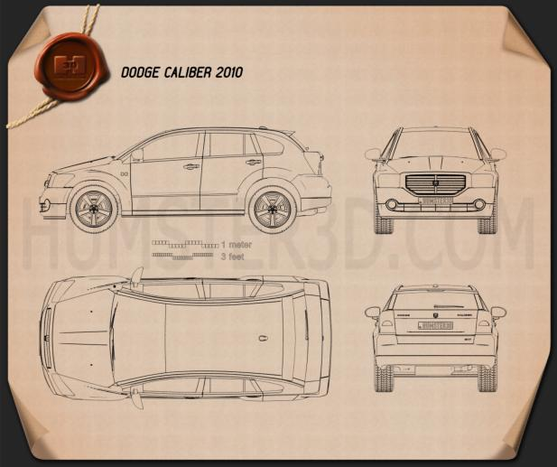 Dodge Caliber 2010 Blueprint