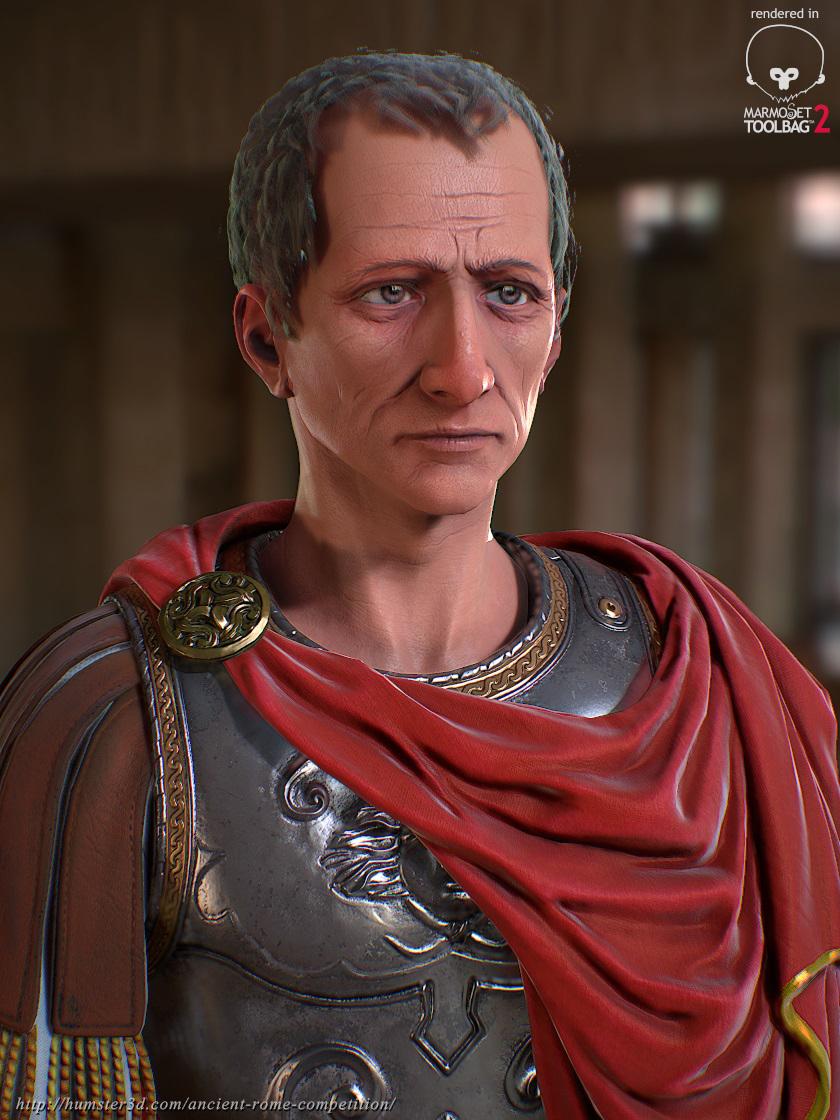 Caius Iulius Caesar 3d art