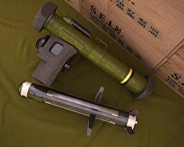 FGM-148 Javelin 3D model