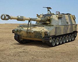 M109 Howitzer 3D model