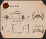 Cisitalia 202 1946 Blueprint