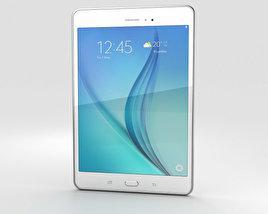 Samsung Galaxy Tab A 8.0 White 3D model