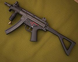 Heckler & Koch MP5K-PDW 3D model