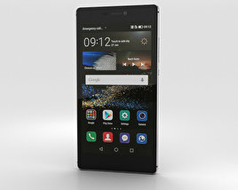 Huawei P8 Titanium Grey 3D model