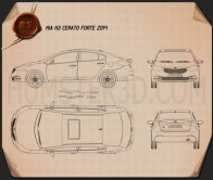 Kia Forte 2014 Blueprint