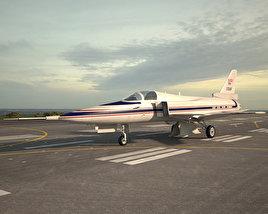 Grumman X-29 3D model