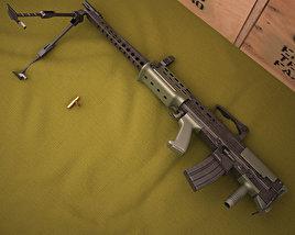 SA80 A2 LSW 3D model