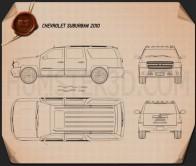 Chevrolet Suburban Blueprint