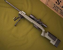 Remington M40A5 3D model