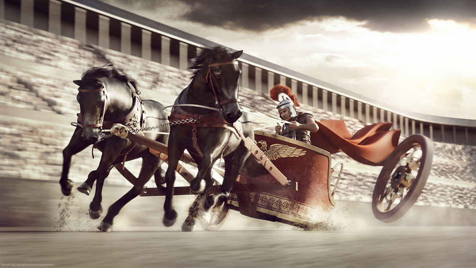Circus Maximus by Maciek Ptaszynski