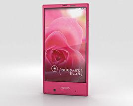 Sharp Aquos Serie mini SHV31 Pink 3D model