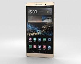 Huawei P8max Luxurious Gold 3D model