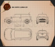 Mini Cooper clubman 2011 Blueprint
